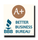 Better Business Bureau Rated A+