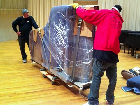 moving a steinway piano